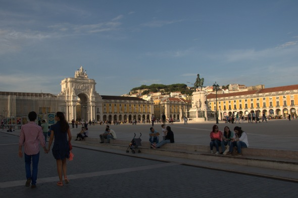Praça do Comércio in the Baixa district