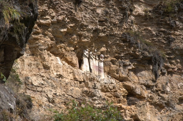 The sarcophagi at Karajia, Northern Peru