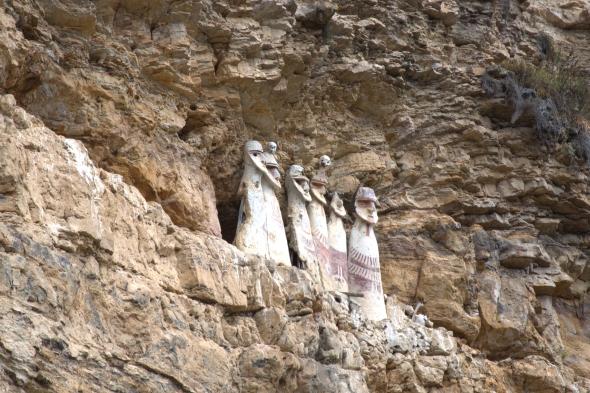 The sarcophagi at Karajia