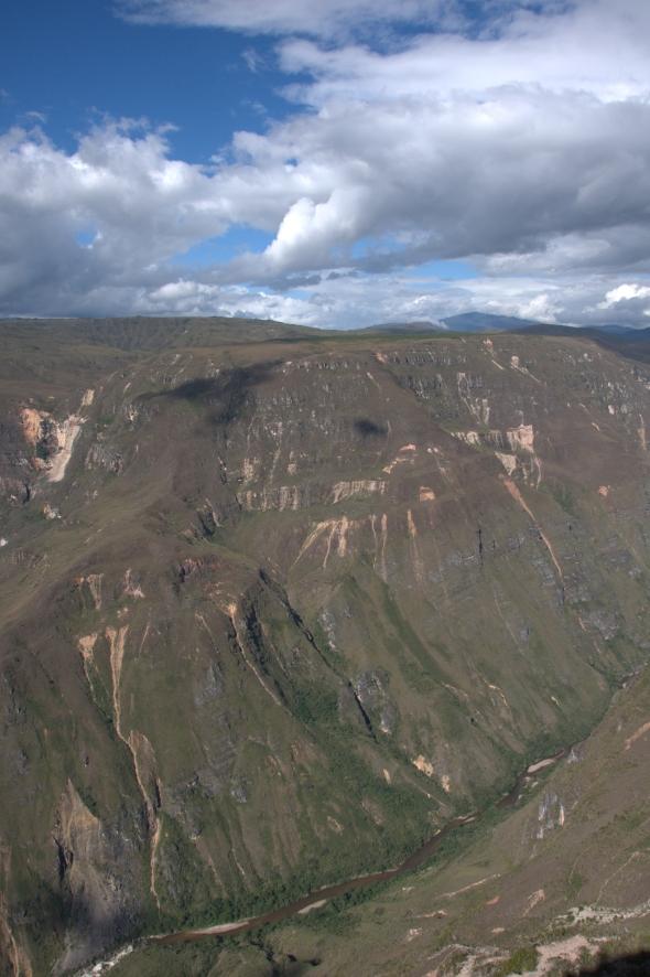 Huancas Gorge