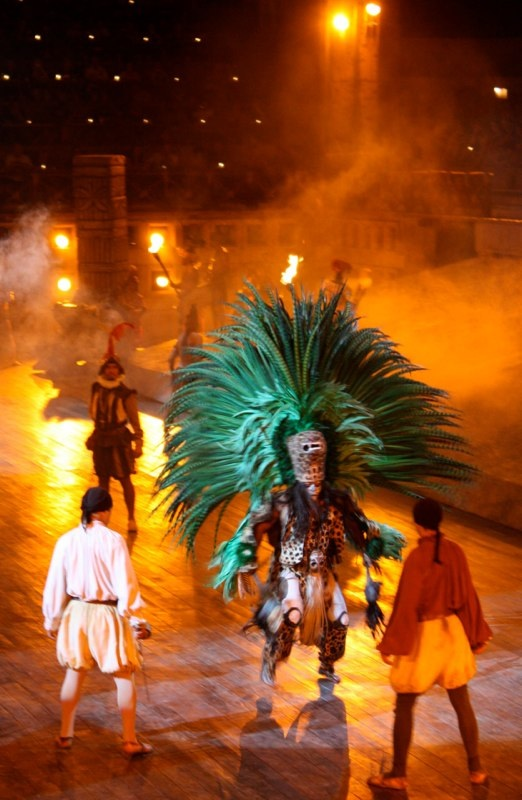 The show at Xcaret