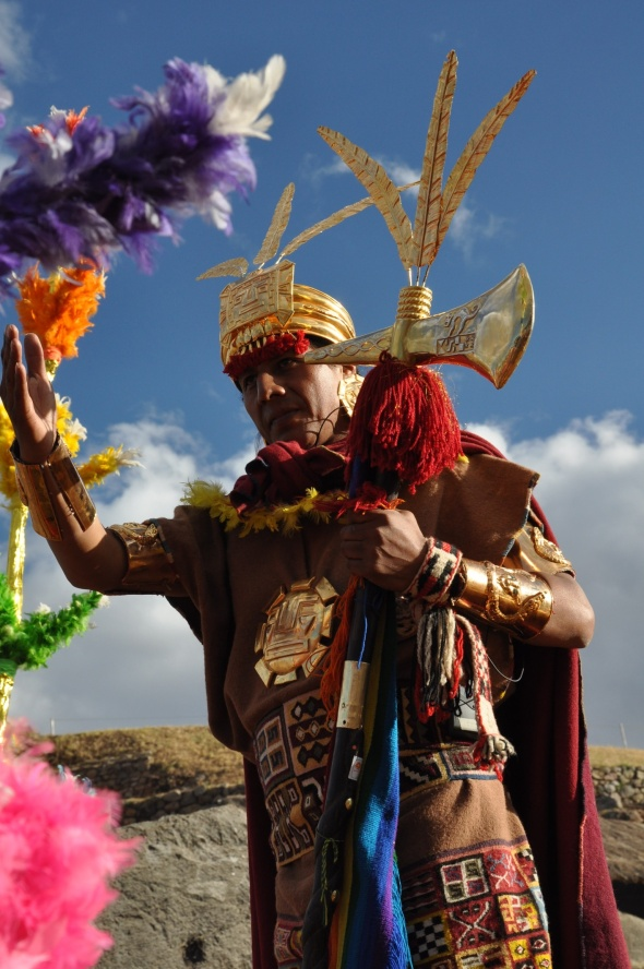 Inti Raymi celebrations take place each June
