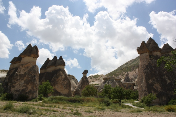 Fairy chimneys near Goreme