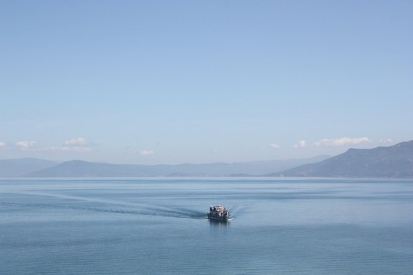 Lake Ohrid at Sveti Naum