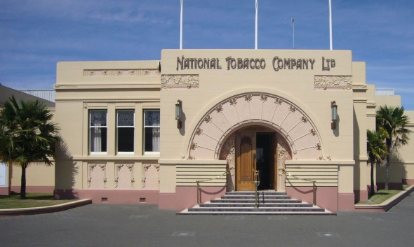 Art Deco is common in Napier