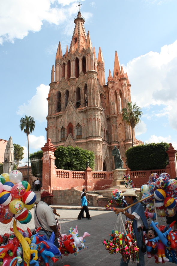 The Parroquia of San Miguel de Allende - Disney or Pixar, do you think?
