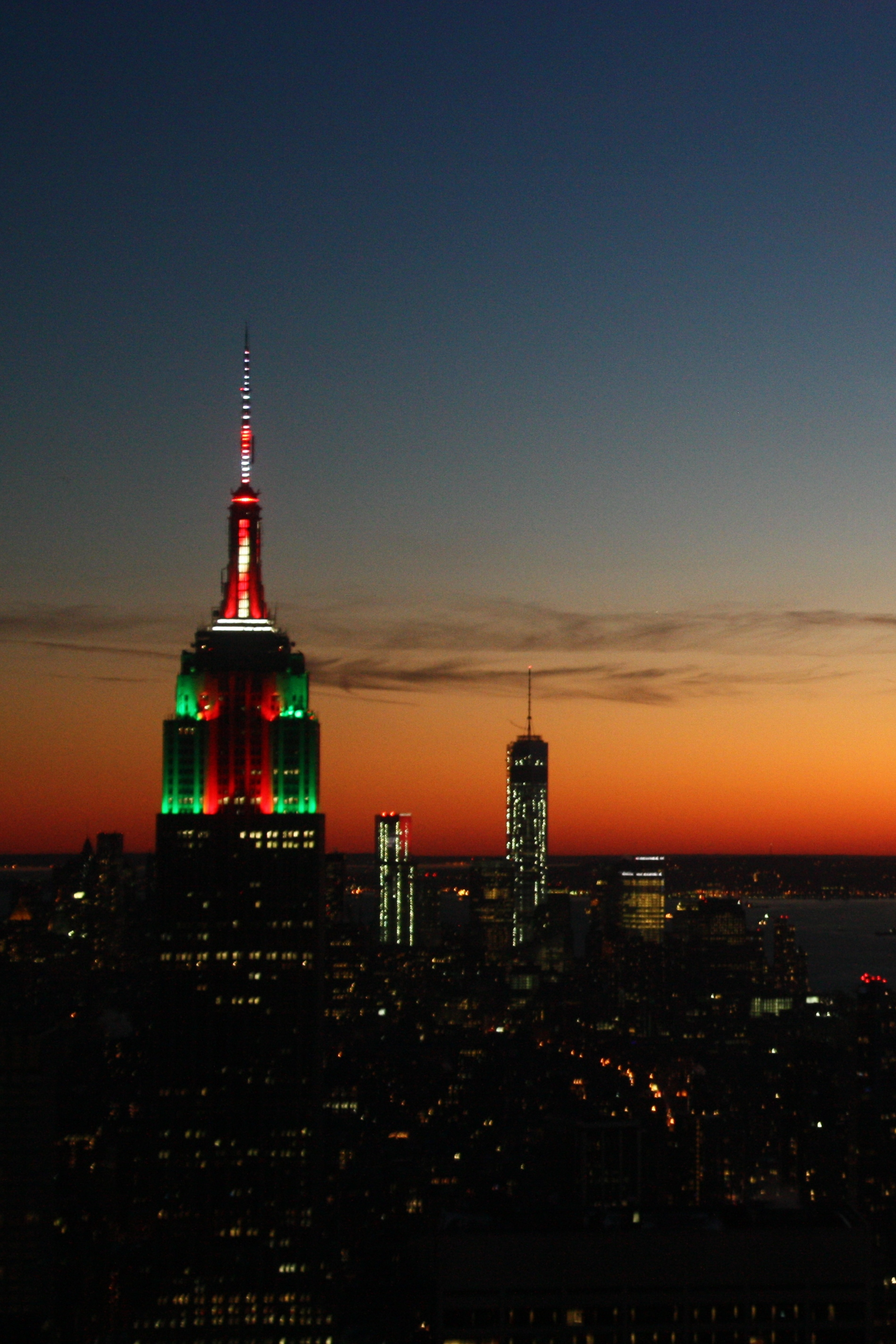 empire state building sunset - photo #43