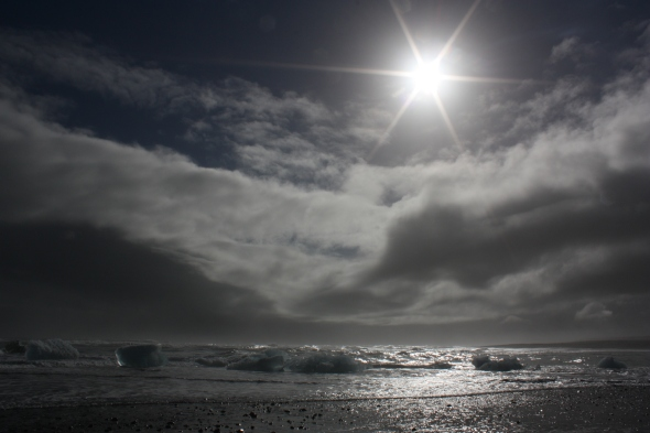 Jökulsárlón beach