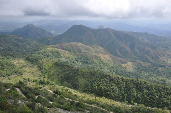 Views over the surrounding countryside from Citadelle Laferriere