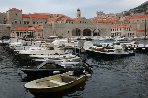 Boats, Dubrovnik harbour