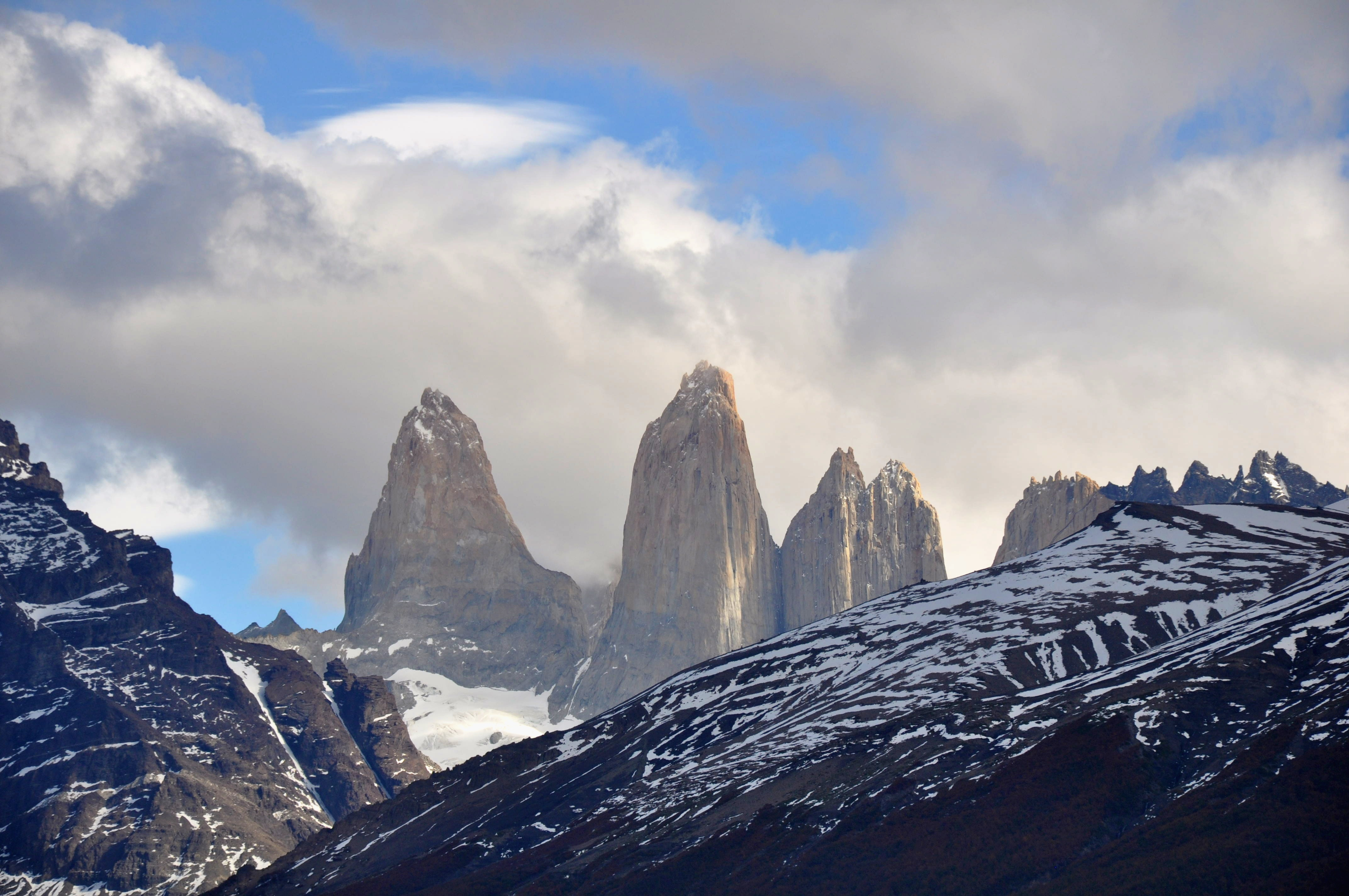 how to fly to torres del paine