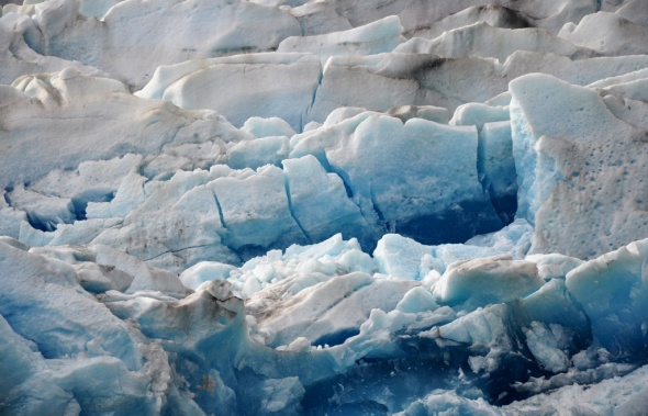 Close up of the ice, Glaciar Grey