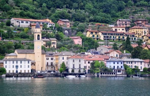 Laglio, where George Clooney owns a villa.