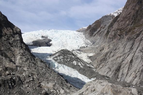 Yes, I passed the test! Proof I visited Franz Josef glacier.