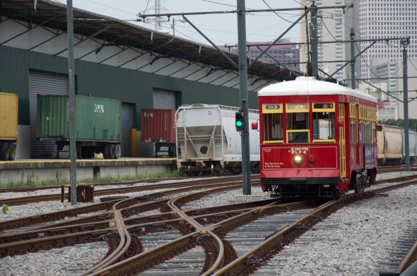 Riverfront tram