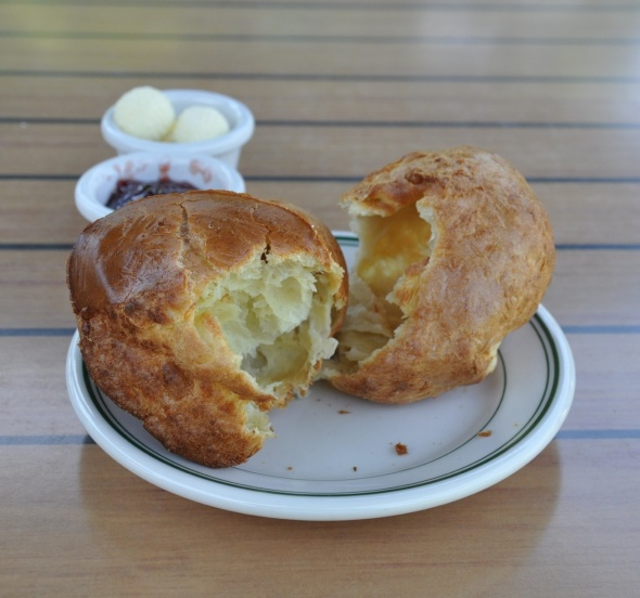 Popovers at Jordan Pond House
