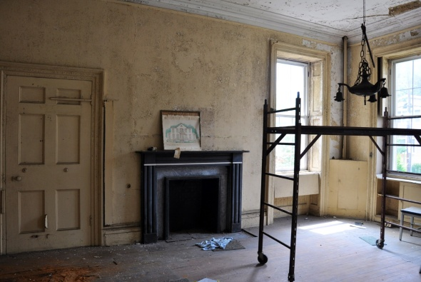 Unrestored back room