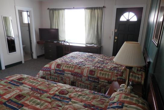 Room at the motel