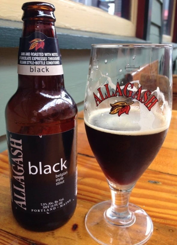 Allagash Black, tasty but strong!