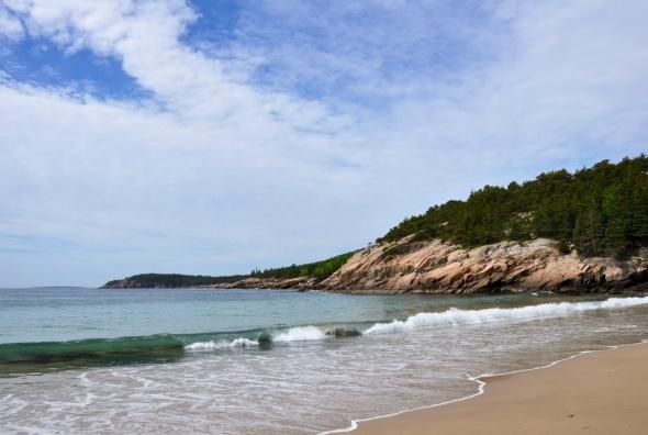 Sandy Beach, Acadia National Park