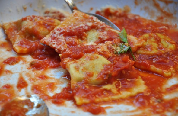 Sebastiana's favourite ravioli