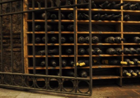 The wine cellar at Spirito di Vino