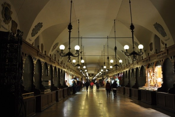 Interior of the Cloth Hall