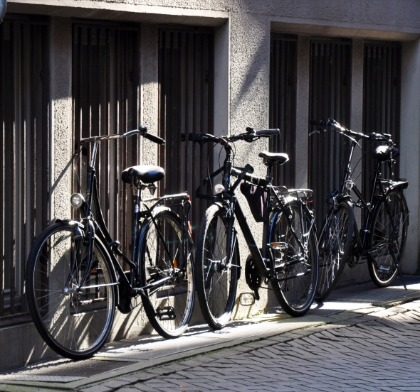 Like many German cities, Bremen's great for cycling