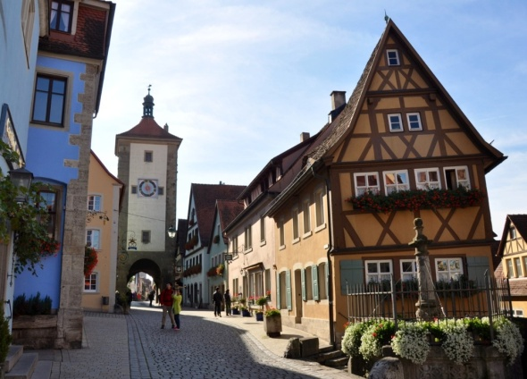 The most photographed spot in town: Plonlein
