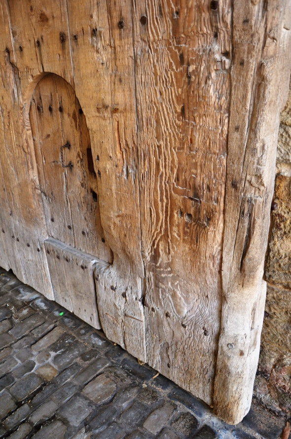 One of the old wooden gates
