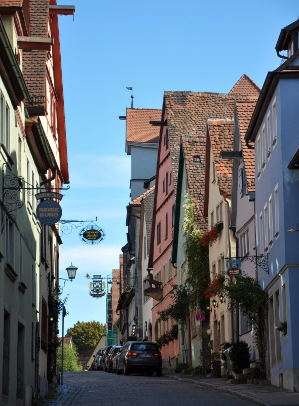Rothenberg's side streets are just as quaint