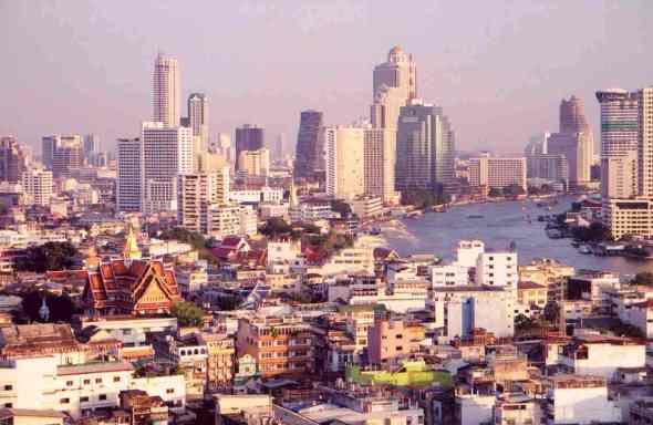 Thailand Bangkok skyline