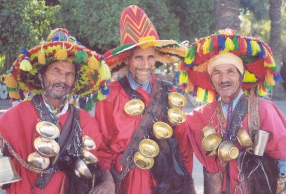 Morocco Djemaa water sellers (1)