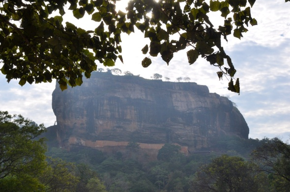 Sigiriya from below