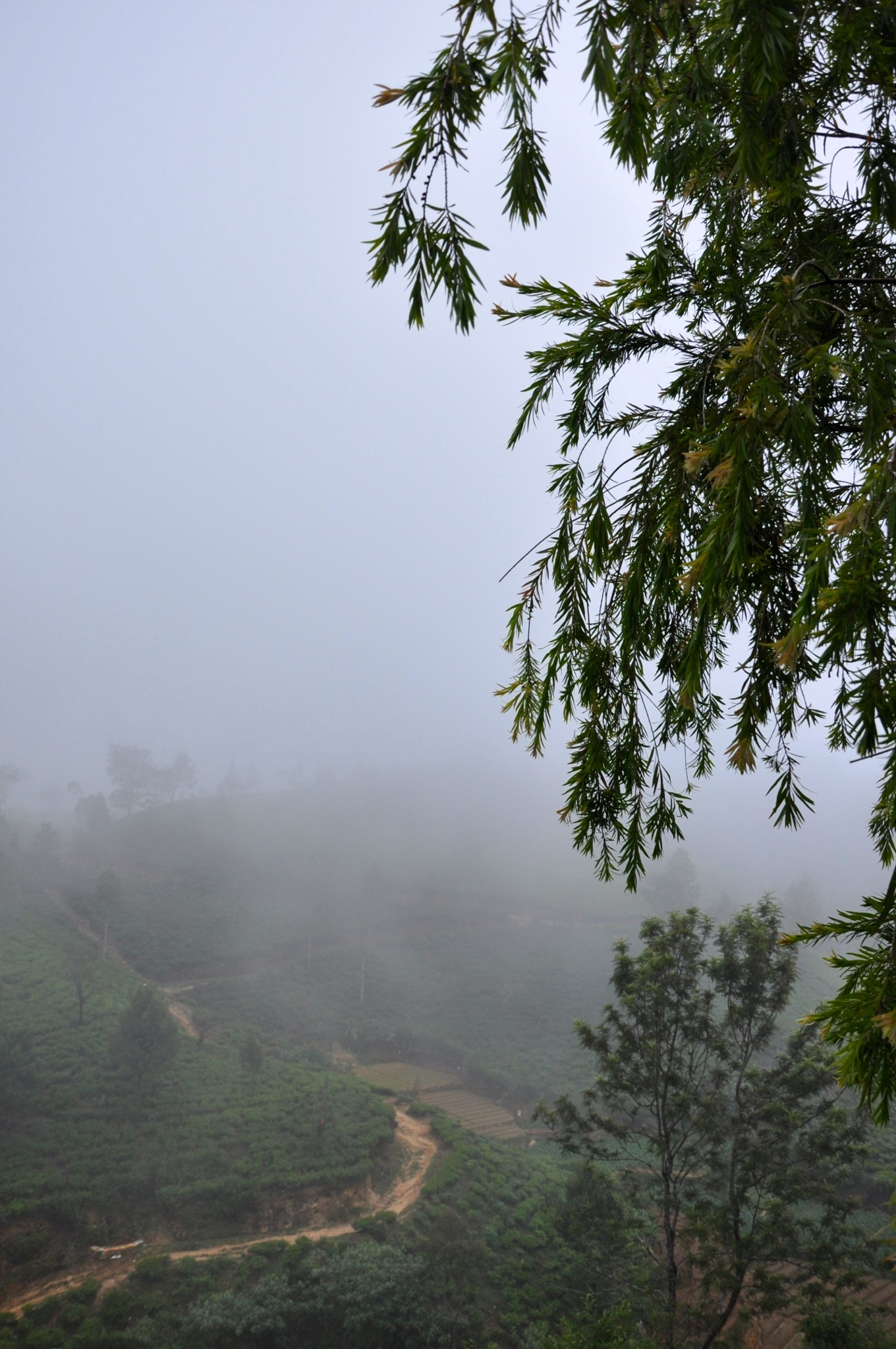 Weather changes fast in the hills