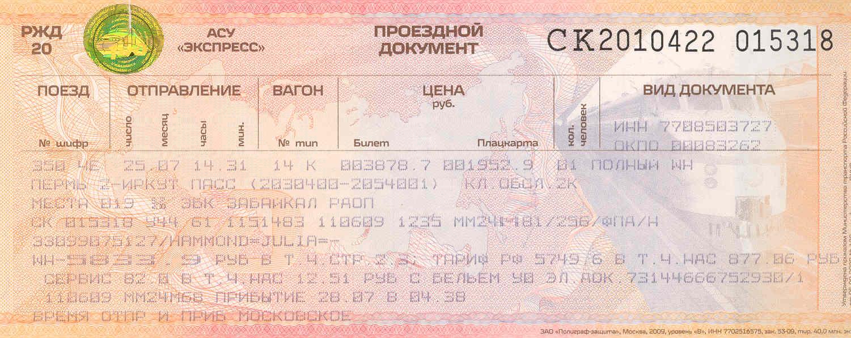 russian-train-ticket