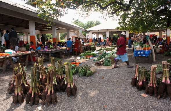 Lenakel market