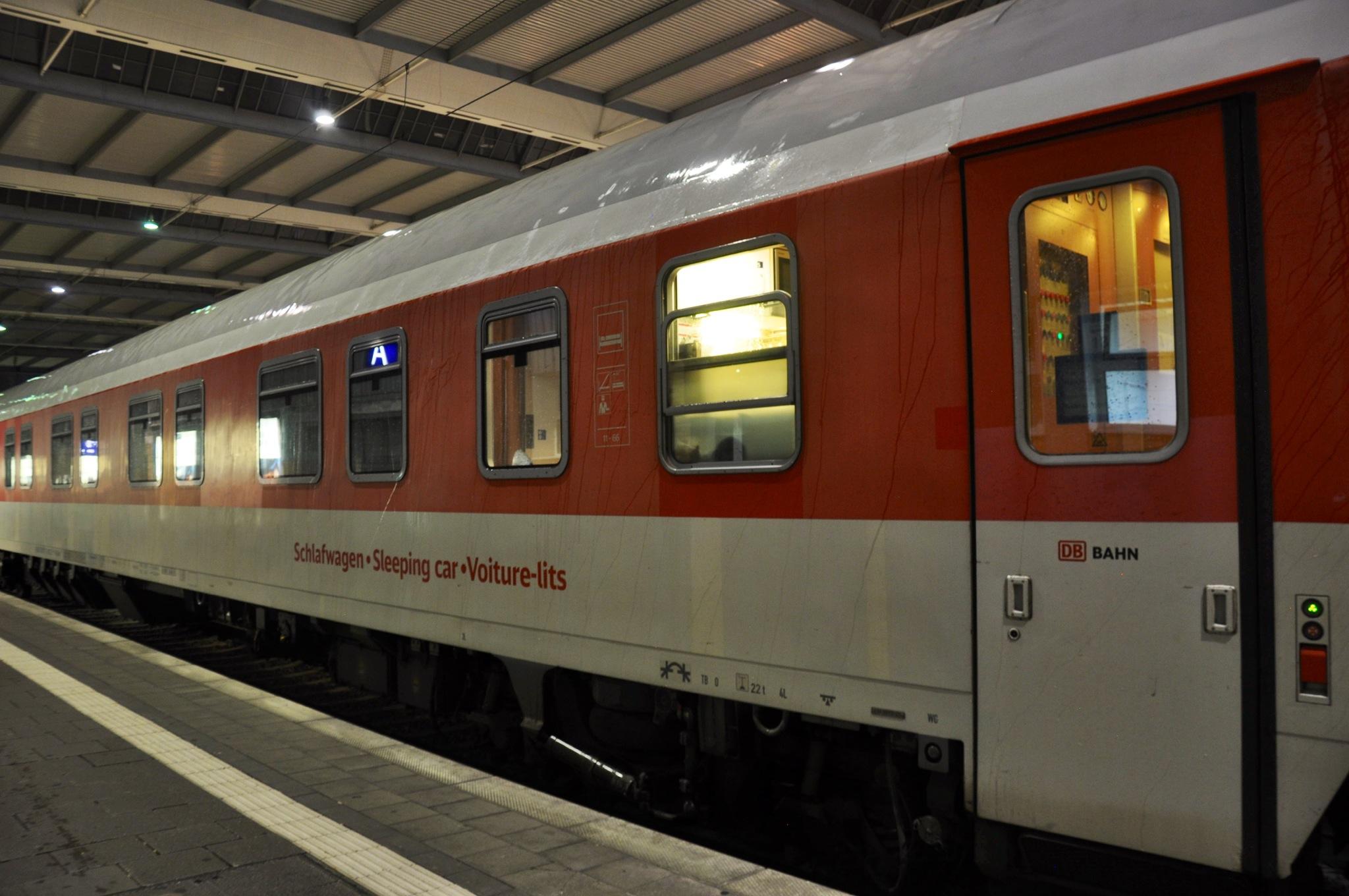 Night train exterior