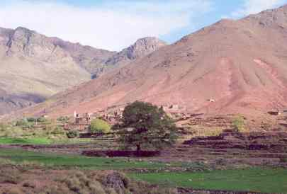 Morocco Atlas valley