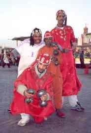 Morocco Djemaa dancers
