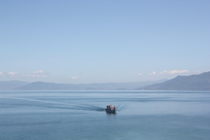 Lake Ohrid at Sveti Naum
