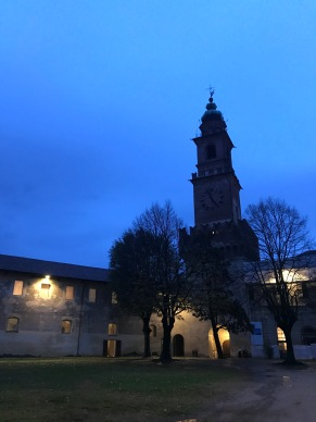 The blue hour in Vigevano
