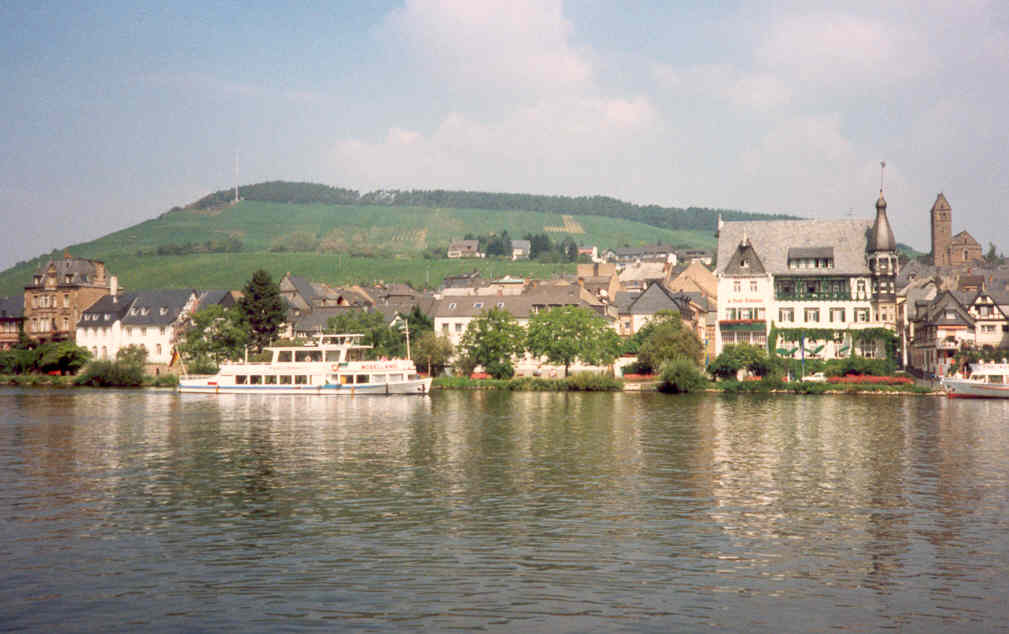 Germany Mosel village of Traben