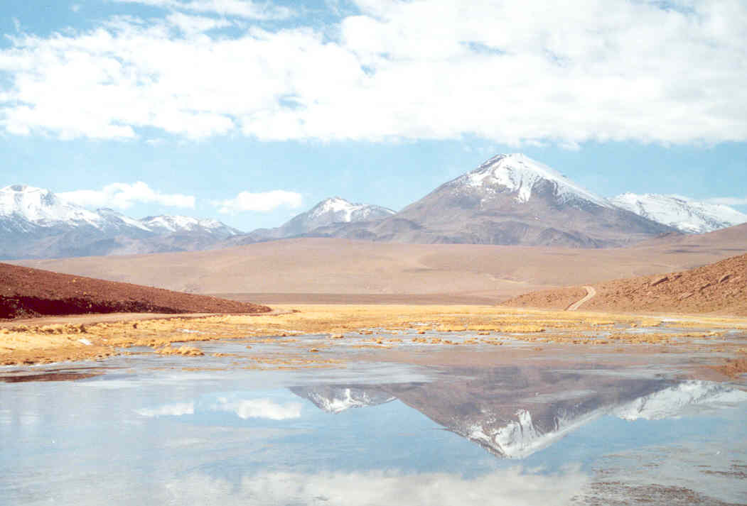 Chile Volcanoes of the Altiplano